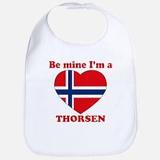 Thorsen, Valentine's Day Bib