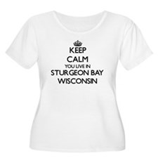 Keep calm you live in Sturgeon B Plus Size T-Shirt