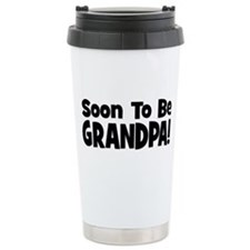 Cute Pregnant christmas Travel Mug