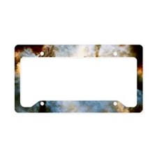 Vanguard Alien Ship Clouds License Plate Holder
