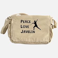 Peace Love Javelin Messenger Bag