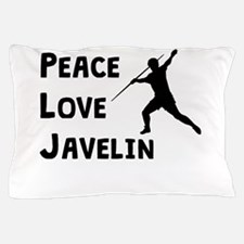 Peace Love Javelin Pillow Case