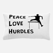 Peace Love Hurdles Pillow Case