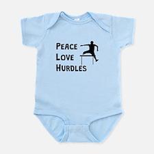 Peace Love Hurdles Body Suit