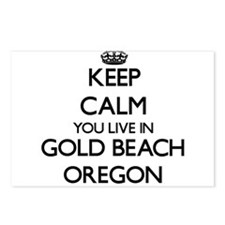 Keep calm you live in Gol Postcards (Package of 8)