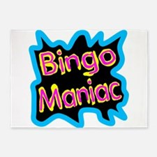 Bingo Maniac 5'x7'Area Rug