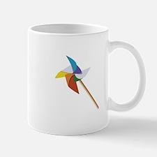 Colorful Pinwheel Mugs