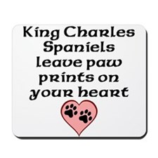 King Charles Spaniels Leave Paw Prints On Your Hea