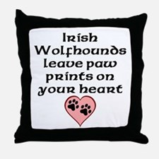 Irish Wolfhounds Leave Paw Prints On Your Heart Th