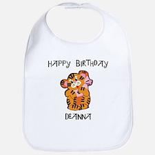 Happy Birthday Deanna (tiger) Bib