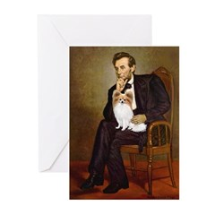 Lincoln's Papillon Greeting Cards (Pk of 20)