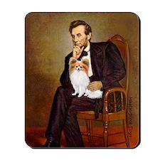 Lincoln's Papillon Mousepad