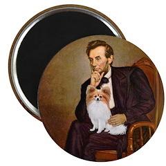 Lincoln's Papillon Magnet
