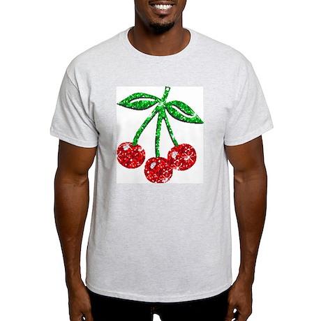 Sparkling Cherries Light T-Shirt