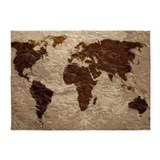 World map Area Rugs