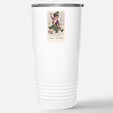 Vintage Happy St Patty Day Travel Mug