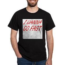 Go Fast Ash Grey T-Shirt