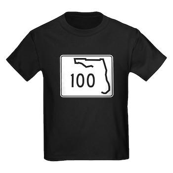 Route 100, Florida Kids Dark T-Shirt