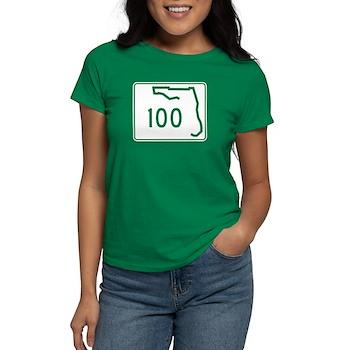 Route 100, Florida Women's Dark T-Shirt
