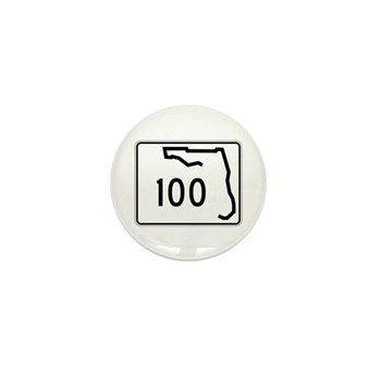 Route 100, Florida Mini Button
