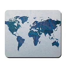 World Map Mousepad