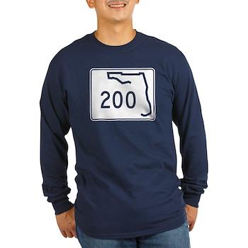 Route 200, Florida Long Sleeve Dark T-Shirt
