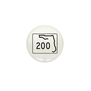 Route 200, Florida Mini Button (100 pack)