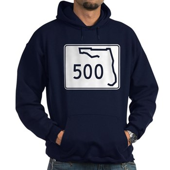 Route 500, Florida Hoodie (dark)