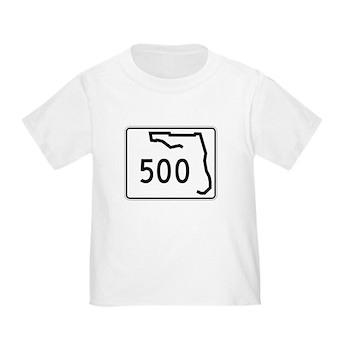 Route 500, Florida Toddler T-Shirt