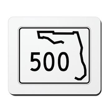 Route 500, Florida Mousepad