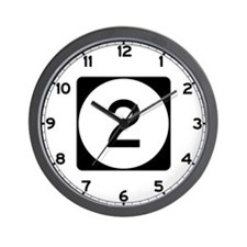Route 2, Iowa Wall Clock