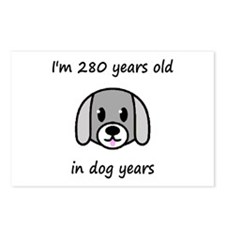 40 dog years 2 - 2 Postcards (Package of 8)