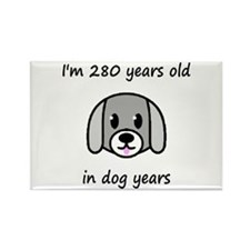 40 dog years 2 - 2 Magnets