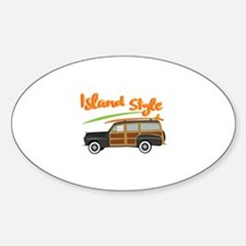 Island Style Car Decal