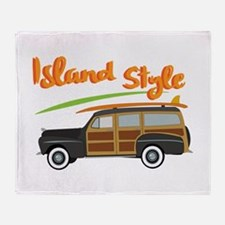 Island Style Car Throw Blanket
