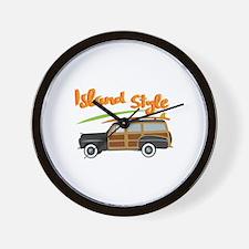 Island Style Car Wall Clock