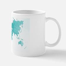 World Map Design Mug