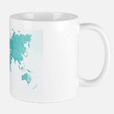 World Map Design Small Small Mug