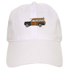 Surfer Car Baseball Baseball Cap
