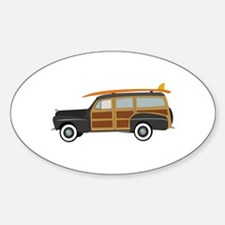 Surfer Car Decal