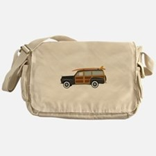 Surfer Car Messenger Bag