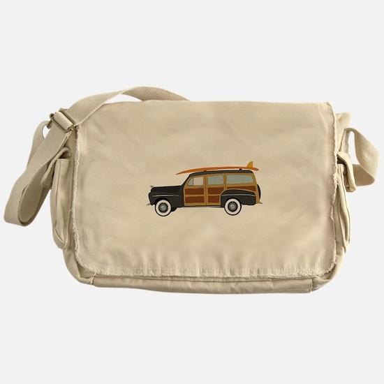 Surfer Car Messenger Bag