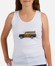 Surfer Car Tank Top