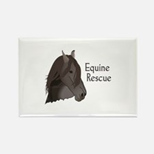 EQUINE RESCUE Magnets