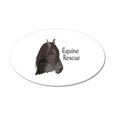 EQUINE RESCUE Wall Decal