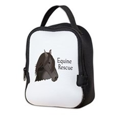 EQUINE RESCUE Neoprene Lunch Bag