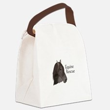 EQUINE RESCUE Canvas Lunch Bag