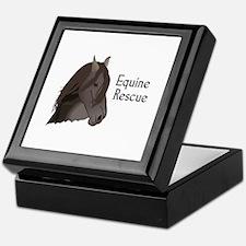 EQUINE RESCUE Keepsake Box