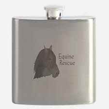 EQUINE RESCUE Flask