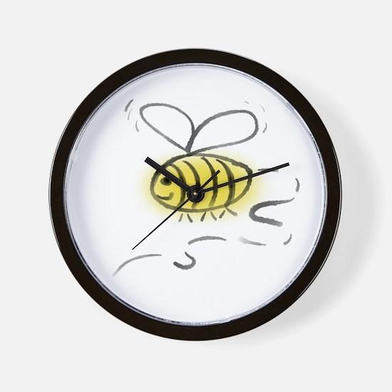 Bee Zoom Wall Clock